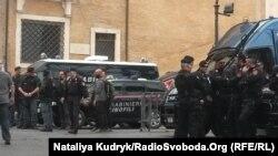 Правоохоронці на Капітолійському пагорбі