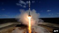 Запуск ракети з космодрому «Східний», 28 квітня 2016 року