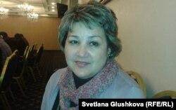 Зульфия Байсакова, председатель «Союз кризисных центров» в Казахстане.