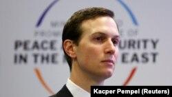 Këshilltari i Lartë i Shtëpisë së Bardhë, Jared Kushner, gjatë një samiti për Lindjen e Mesme. Foto nga arkivi.