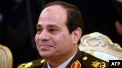 Поранешниот началник на генералштабот на египетската армија Абдел Фатах ал-Сиси.
