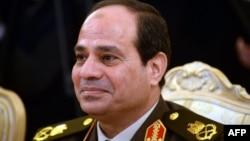 Фельдмаршал Египта Абдул-Фаттах ас-Сисси.