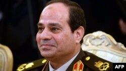 Египет президенті сайлауынан үміткер, бұрынғы армия бас қолбасшысы Абдул-Фаттах әл-Сиси.