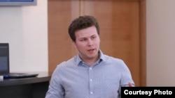 Dan Perciun, liderul organizației de tineret PAS