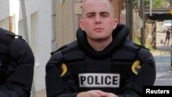 Американский полицейский. Иллюстративное фото.