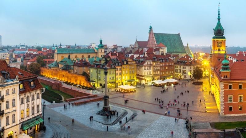 В Варшаве прошли пикеты в защиту и против приёма украинских мигрантов