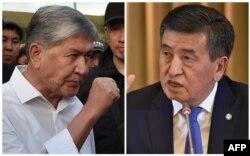 Алмазбек Атамбаеў і Сааранбай Жээнбекаў