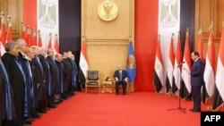Церемония инаугурации Абдул-Фаттаха ас-Сиси на пост президента Египта, Каир, 8 июня 2014 года.