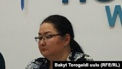 Анара Кыштобаева.