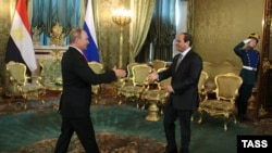 Vladimir Putin və Abdel Fattah al-Sisi