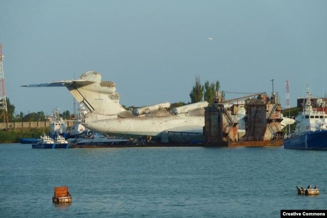 The ekranoplan in 2010