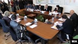 Седница на Државната изборна комисија (ДИК).