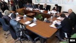 Архивска фотографија: Седница на Државната изборна комисија