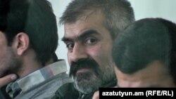 Араик Хандоян в суде, 22 ноября 2017 г.