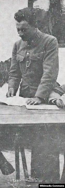 Іван Сіяк, 1917 рік