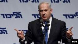 بنیامین نتانیاهو، رهبر اپوزیسیون اسرائیل و حزب تندروی لیکود