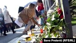 Podgorica: Počast za žrtve napada u Parizu