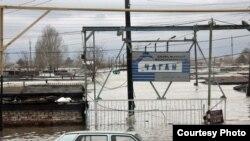 Наводнение в Уральске. 13 апреля 2011 года.