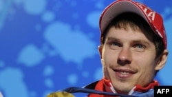 Russian biathlete Yevgeny Ustyugovat won one of Russia's few gold medals.