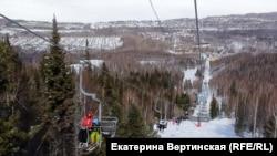 """Горнолыжный курорт """"Гора Соболиная"""""""