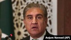 شاه محمود قریشی، وزیر خارجه پاکستان