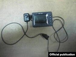 SBU musodara qilgan josuslik videokamerasi