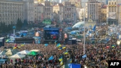A mass rally on Independence Square in Kyiv on March 9.