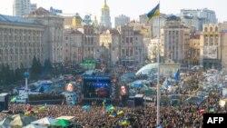 9 март куни Киевда бўлиб ўтган намойиш.