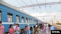 Железнодорожный вокзал. Иллюстративное фото.