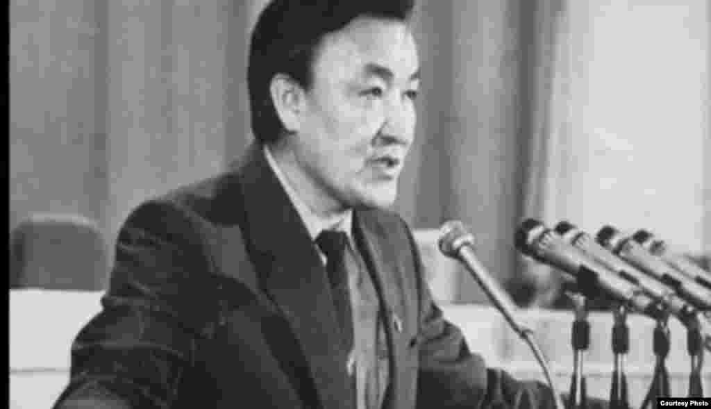 Насирдин Исанов(с 21 января 1991 года по 29 ноября 1991 года).