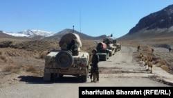آرشیف٬ نیروهای امنیتی در ارزگان