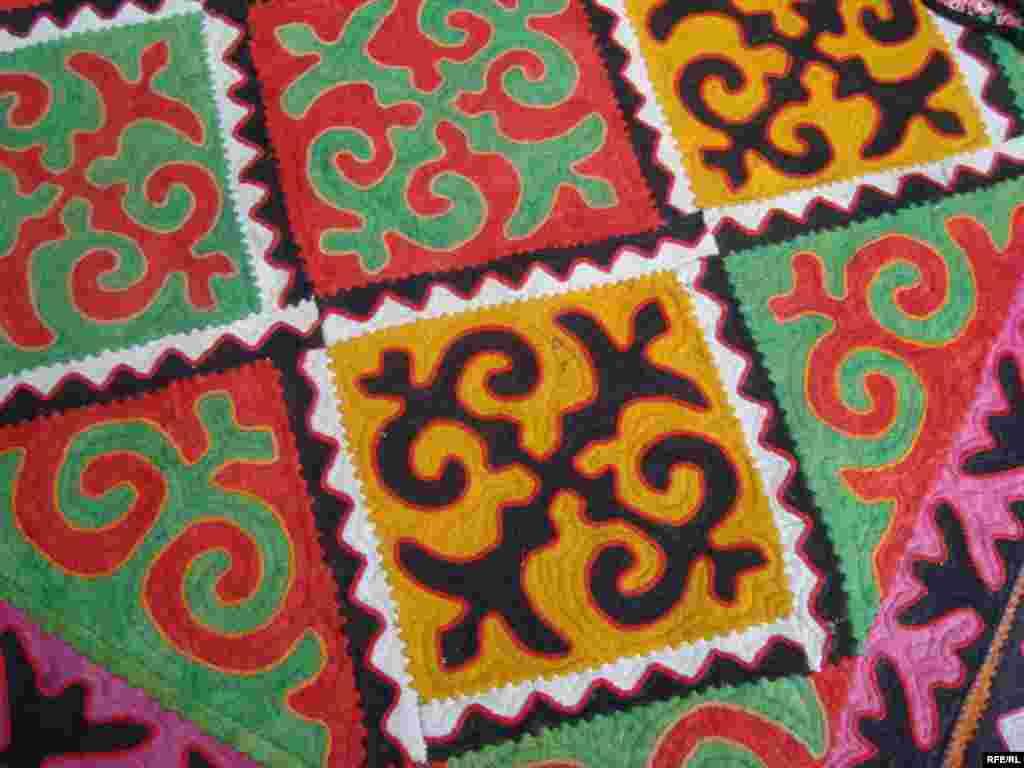 Многообразие кыргызского орнамента #2