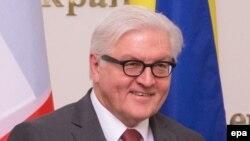 Германия сыртқы істер министрі Франк-Вальтер Штайнмайер.