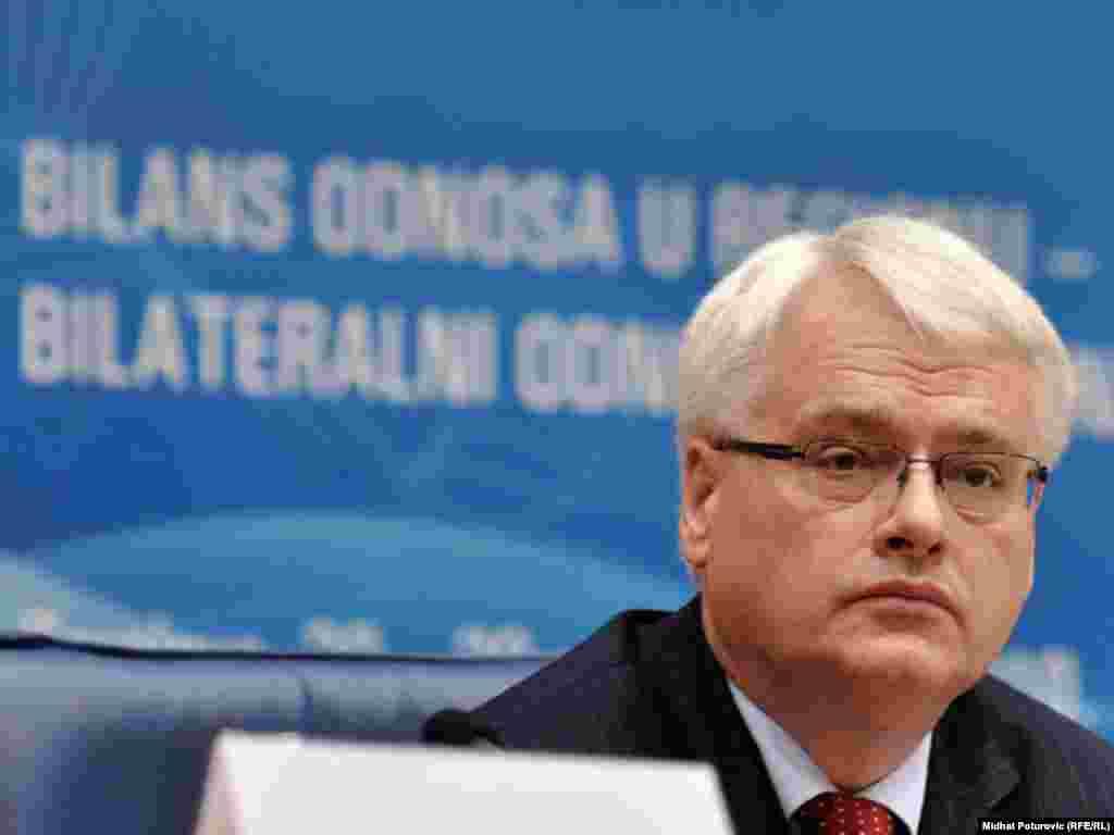 Hrvatski predsjednik Ivo Josipović - Photo: Midhat Poturović