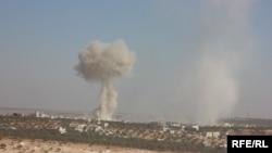 Sulmi mbi qytetin Idlib në Siri
