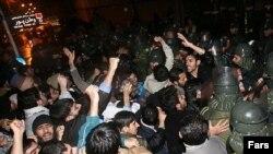 Azərbaycanın Tehrandakı səfirliyi qarşısında etiraz aksiyası, 19 noyabr 2006