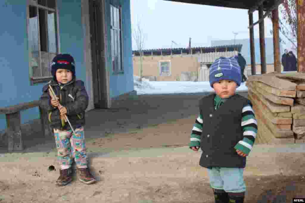 Бишкекские новостройки зимой #15
