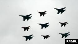 Ілюстраційне фото, російські військові літаки