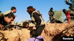 Զինյալ ապստամբներ Սիրիայում, հունիս, 2014թ.