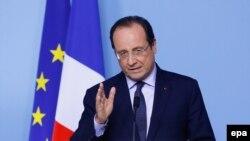 """Выступление Франсуа Олланда после заседания лидеров стран """"Большой семерки"""""""