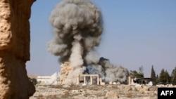 Взрывы в Пальмире. Конец августа 2015 года.