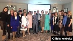 Оксфордта Европа татарлары альянсы утырышында катнашучылар, 7 апрель 2017