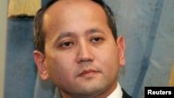 Опальный банкир и оппозиционер Мухтар Аблязов. Алматы, 27 ноября 2006 года.