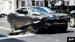 Автомобиль, на котором было совершено преступление в Шарлоттсвилле 12 августа 2017