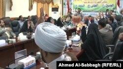 إجتماع لمجلس محافظة القادسية
