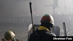 Сутички в урядовому кварталі, Київ, 18 лютого 2014 року