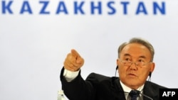 Казахтанскиот претседател Нурсултан Назарбаев.