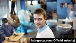 """Денис Штенгелов, владелец холдинга """"КВД групп"""""""