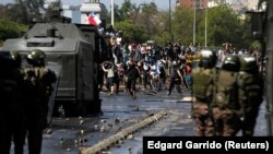 Анти-владини протести во Чиле