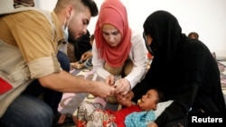 Izbjeglički kamp u Iraku